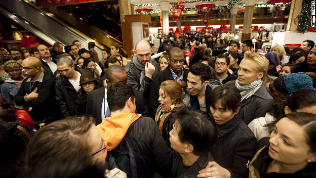 Big crowds, big mischief on Black Friday (and Thursday, too)