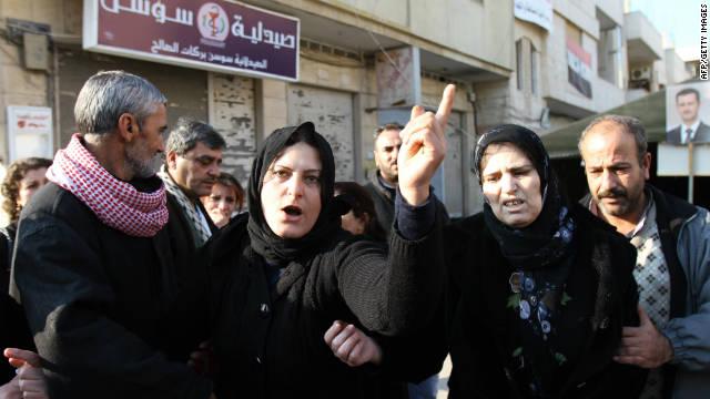 La misión de la Liga Árabe inicia revisiones en la ciudad de Homs, Siria