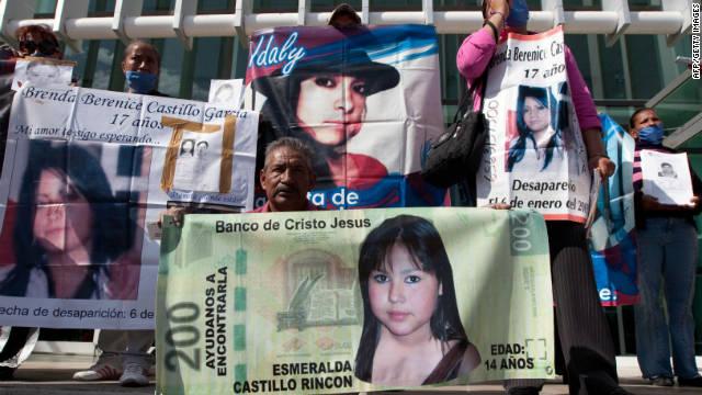 Las denuncias por desaparición de mujeres en México aumentaron 600% en un año