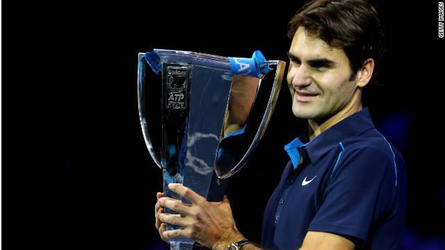 Federer rompe nuevo récord y suma 70 campeonatos en 100 finales disputadas
