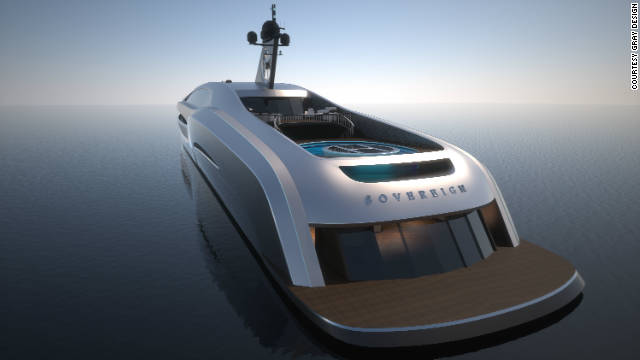 Gray Design say the $134m superyacht will be in production by the end of the year.