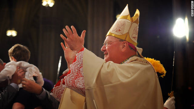 Cardinal Timothy Dolan sat for questions from lawyers for victims of sexual abuse by priests, his office said Wednesday.