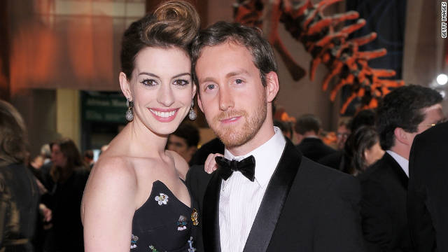 Anne Hathaway engaged to longtime beau