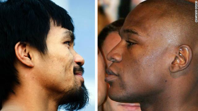 Mayweather reta a Pacquiao en Twitter para una pelea en mayo