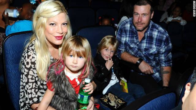 Tori Spelling: At least my breasts looked great