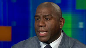 Magic Johnson has been living with HIV for more than 20 years.