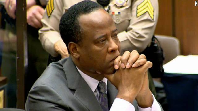 Un juez niega la libertad bajo fianza a Conrad Murray, médico de Michael Jackson