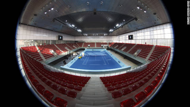 The Madrid Open was a hard court tournament from 1990 to 2008 before it switched to clay in 2009. The 2012 version will take place at the Caja Mgica between May 4 and 13.