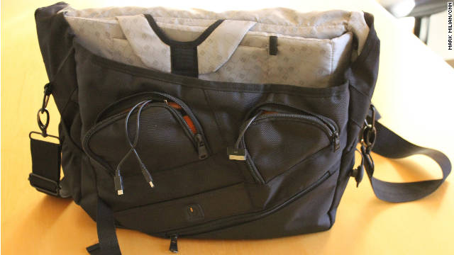 Un maletín impide que tus 'gadgets' se queden sin batería