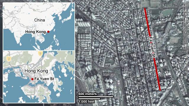 Map: Fa Yuen Street