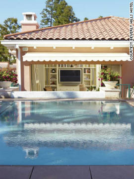 The new bungalows also feature private pools.
