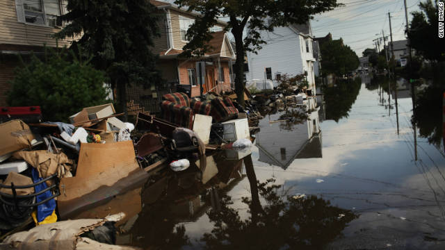 In August, Hurricane Irene pummeled the East Coast, including Wallington, New Jersey.