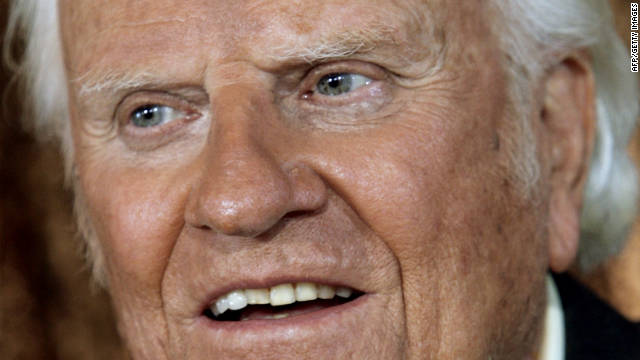 Billy Graham in 'good spirits' at hospital