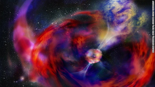 Christmas gamma-ray burst debated
