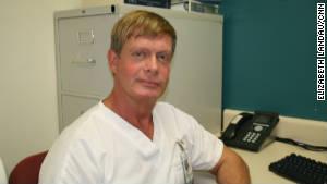 Nurse Lane Tatman has been HIV-positive since the 1980s.