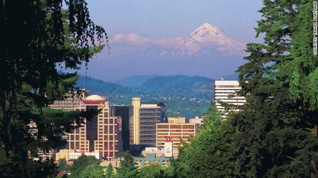 CNN's Christina Blaisdell says Portland is an international city within the U.S.