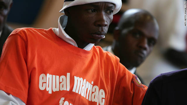 111130100511 gay rights africa story top STORY HIGHLIGHTS. The bill calls for a 14 year sentence for anyone convicted ...