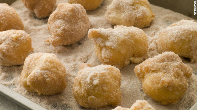 Breakfast buffet: National fritters day