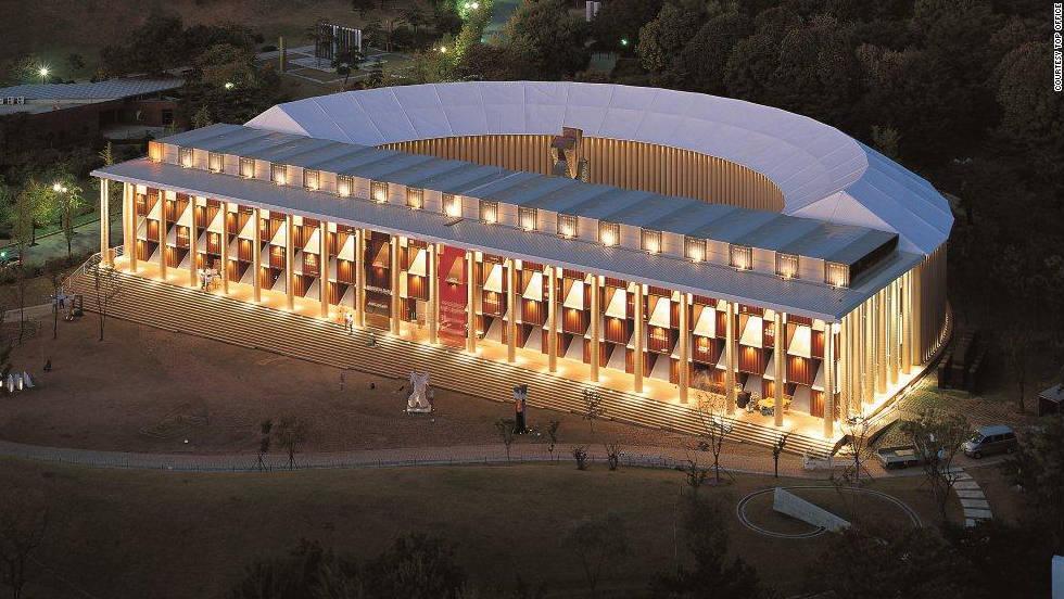 El museo-contenedor de Corea del Sur
