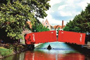 Un puente temporal en Holanda