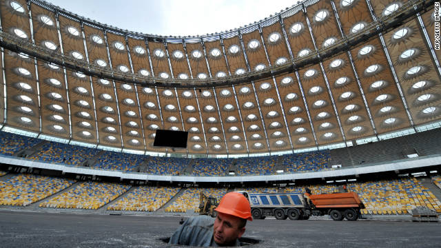 Euro 2012: Poland and Ukraine race to be ready