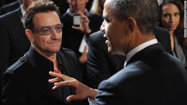 In 2002, U2 front man Bono created the ONE Campaign to end global poverty and has successfully gotten support from world leaders, who gathered for World AIDS Day on December 1. Over the past decade, Bono's campaign has helped provide access to lifesaving AIDS medications to nearly 4 million Africans.