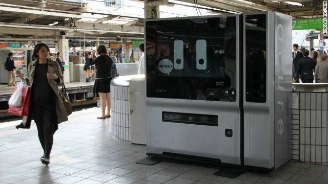 Japan Eats: Thirsty in Japan? Ask a machine for a drink
