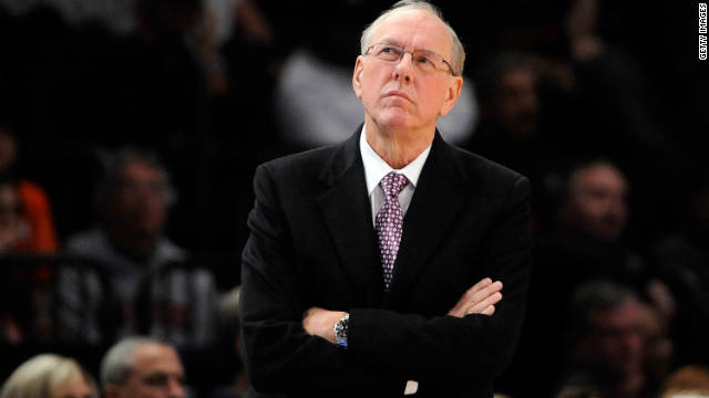 Longtime Syracuse head basketball coach, Jim Boeheim, was sued for defamation.