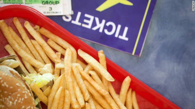 Airport food: the sumptuous and the scary