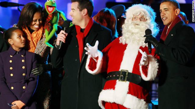 Barack Obama da un mensaje cristiano con motivo de la temporada navideña