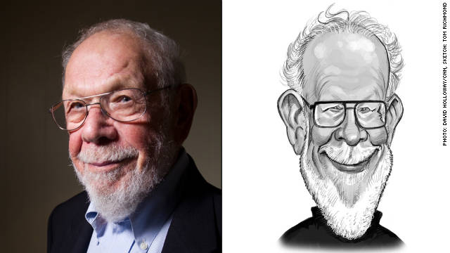 Al Jaffee, 90, is best known for the Mad Fold-in and &quot;Snappy Answers to Stupid Questions.&quot; He's been contributing since 1955.
