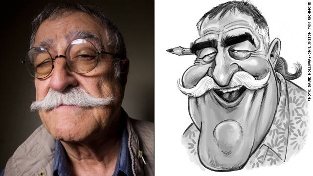 Sergio Aragones, 74, will celebrate 50 years as a Mad contributor in 2012. The incredibly prolific artist created &quot;The Shadow Knows&quot; and the countless mini-cartoons known as &quot;marginals.&quot;