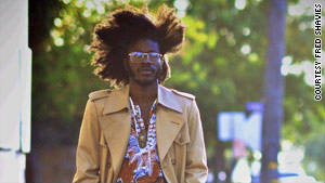 Jesse Boykins III\'s musical heroes, and fashion influences, come from the classic soul era.