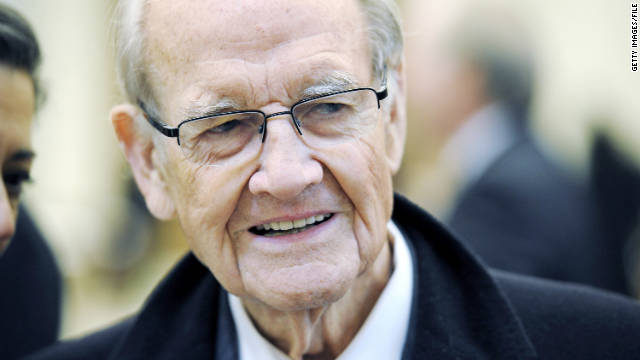 George McGovern is in guarded condition at a hospital in South Dakota, a nursing staffer said Friday night.