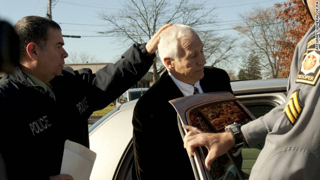"Need to Know News: Sandusky remains in jail after arrest on new charges; Corzine: ""I don't know where the money is"""