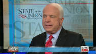 "McCain: Watching GOP race with ""relief"""