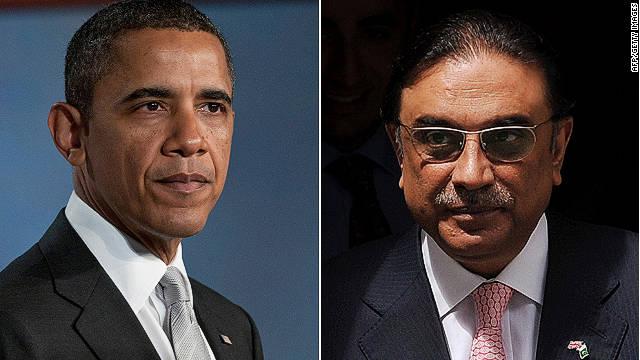 Obama expresa condolencias al presidente de Pakistán por muertes en ataque de la OTAN