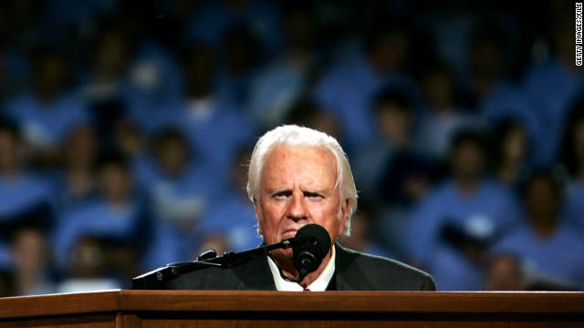Hospitalized Billy Graham continues to show improvement