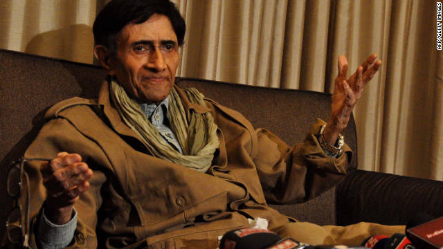 "Dev Anand, a Bollywood star, died of a heart attack December 4 at age 88. ""Dev Anand was a great artist who entertained generations of cinema lovers over five decades,"" said Indian Prime Minister Manmohan Singh. <a href='http://articles.cnn.com/2011-12-04/asia/world_asia_india-bollywood-star-dies_1_bollywood-indian-film-industry-hare-rama-hare-krishna?_s=PM:ASIA'>Full story</a>"