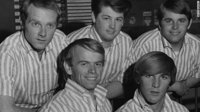 The Beach Boys took much of their inspiration from the ocean for their hits, including &quot;Sail on Sailor.&quot;