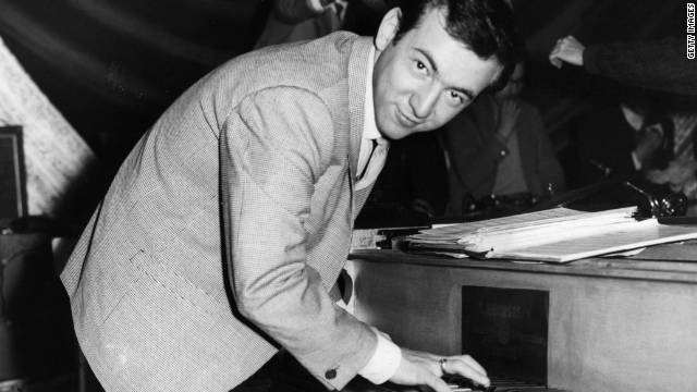 American singer and film actor Bobby Darin sang &quot;Beyond the Sea,&quot; which has been covered by numerous artists over six decades.