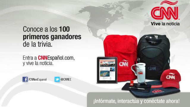 ¿Ganaste un iPad? Conoce a los ganadores de la trivia de CNN en Español