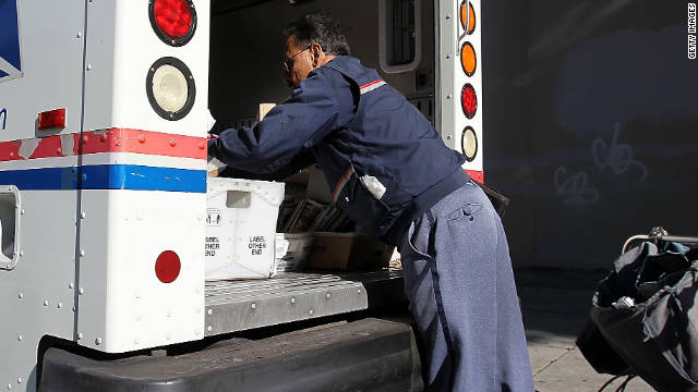 USPS ending Saturday delivery of letters, first-class mail