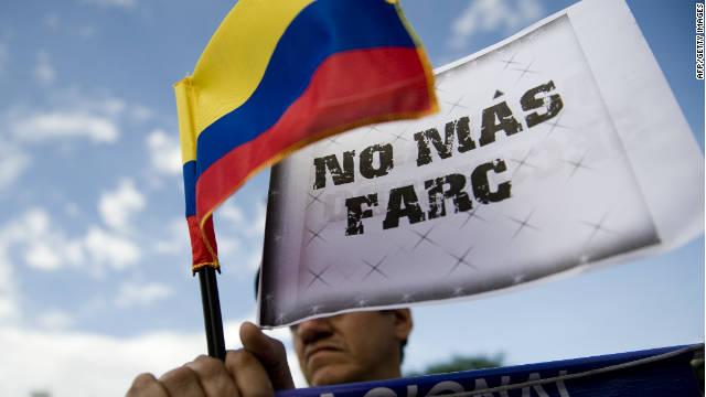 Colombia marcha por la libertad de los secuestrados