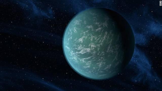 La NASA descubre Kepler-22b, un planeta que puede tener agua