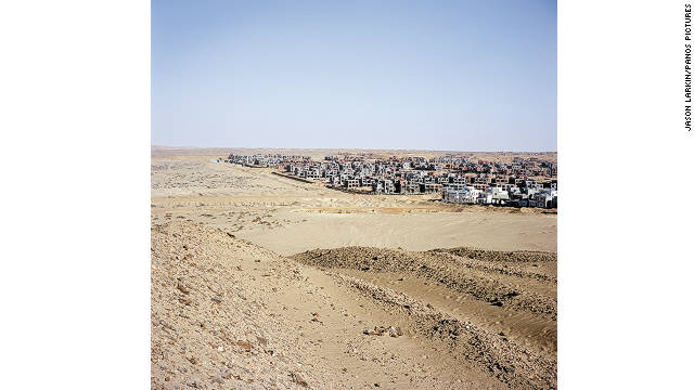 A new housing development in New Cairo.