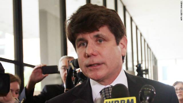 El exgobernador de Illinois, Rod Blagojevich espera su sentencia