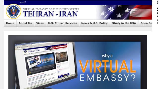 """EE.UU. abre una embajada """"virtual"""" en Irán"""