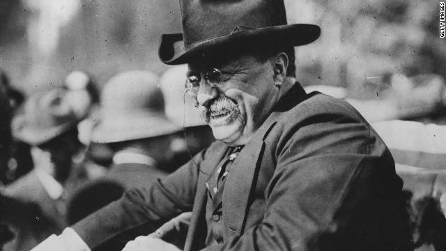 Teddy Roosevelt, shown in 1915, was the first American to win the Nobel Peace Prize.