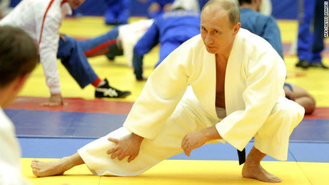 Putin holds a blackbelt in judo. He hopes to return to the Kremlin having announced he will run for the presidency in 2012